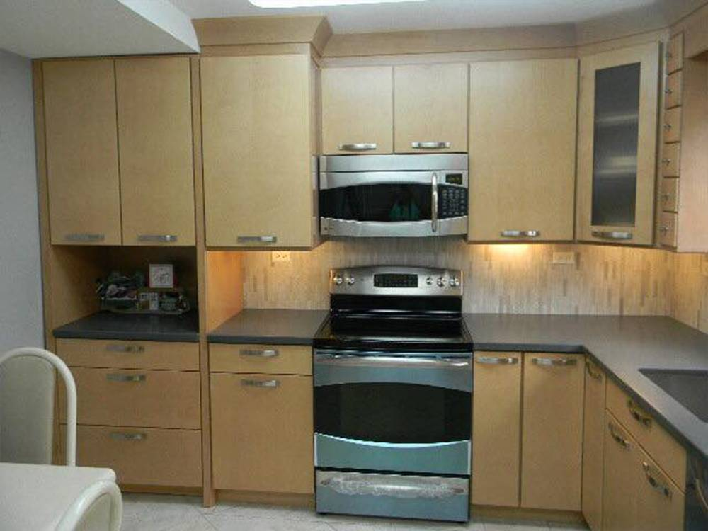 Kitchen Remodel Miami Beach Condo Idea