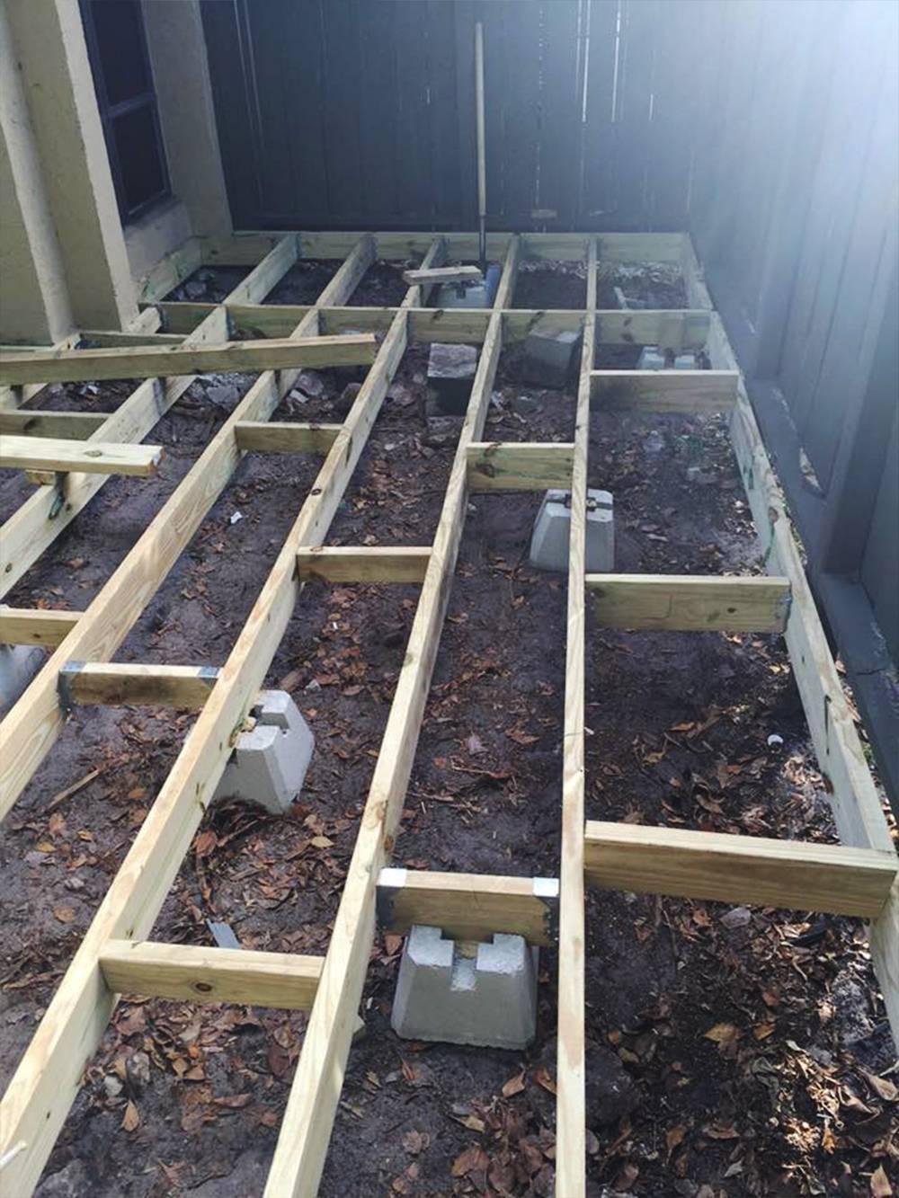 Deck Addition Plantation