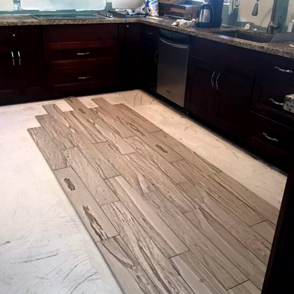 Flooring & Kitchen Cabinets