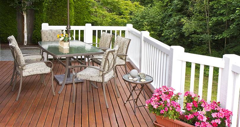 Wood Deck Addition